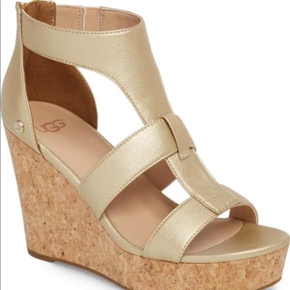 Ugg Shoes Nwb Whitney Platform Wedge Sandal Poshmark
